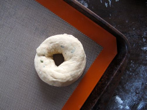 Making Tomato Basil Bagels