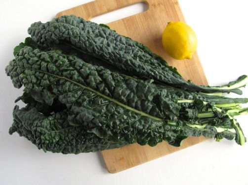 Tuscan Kale (also known as Lacinato Kale or Dinosaur Kale)