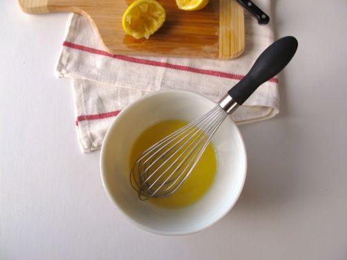 Making Avgolemono - Greek Egg Lemon Soup