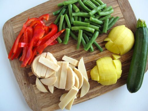 Vegetables to add to Easy Thai Peanut Curry