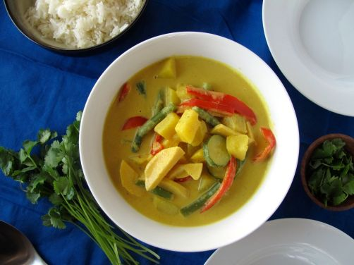 Easy Thai Peanut Curry