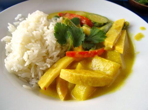 Easy Thai Peanut Curry