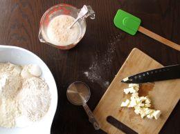 Making 50/50 White/Whole Wheat Sandwich Bread