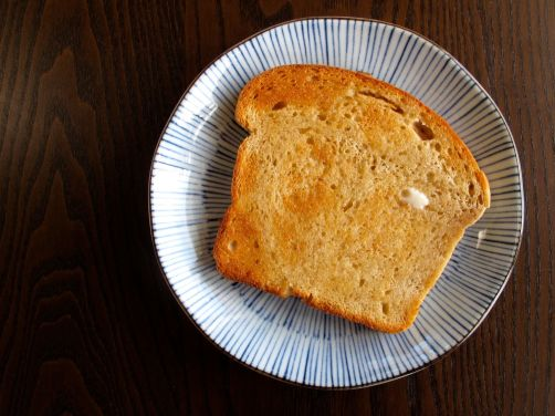 50/50 Sandwich Bread, perfect for buttered toast