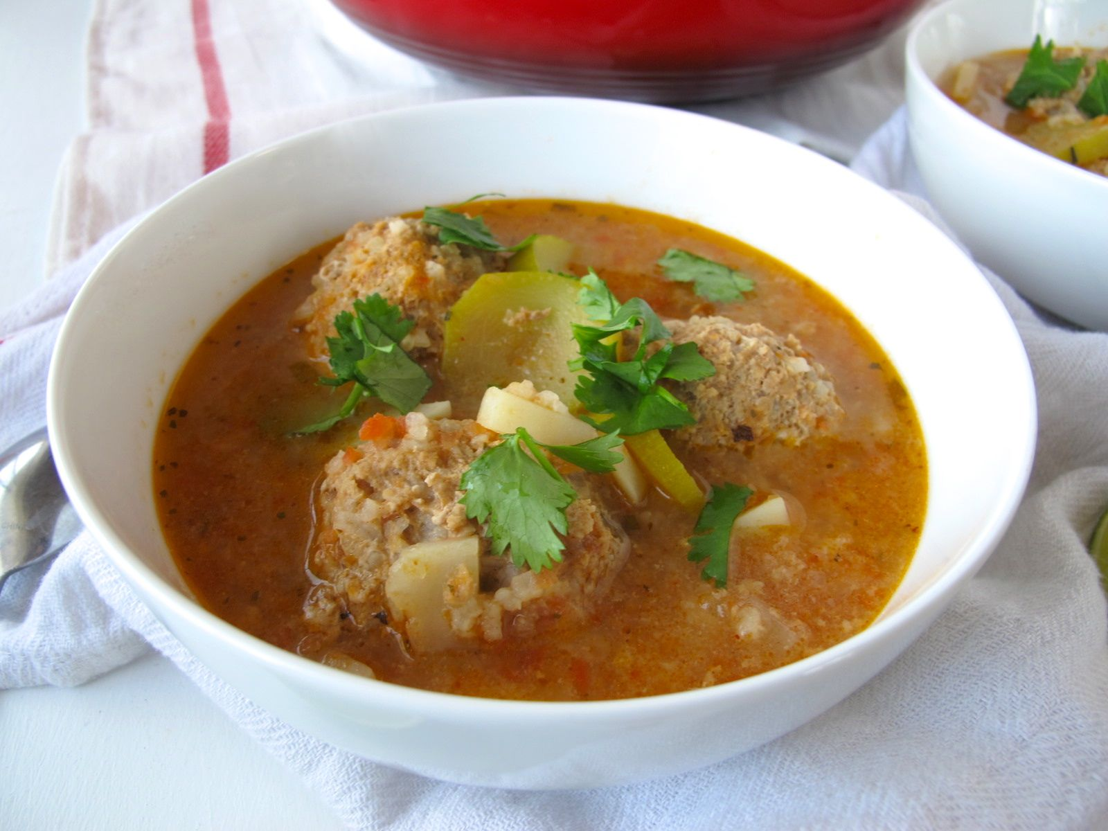 Albóndigas Soup (Guest Post) | spontaneous tomato