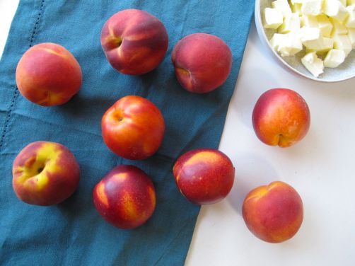 Peaches, Nectarines, and Butter