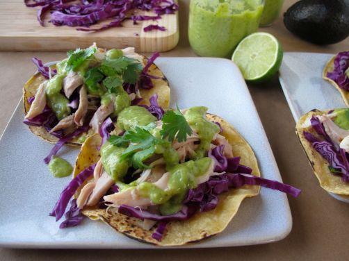 Taqueria-Style Creamy Avocado Salsa