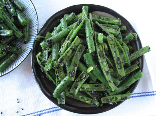 Black Sesame Green Bean Goma-Ae