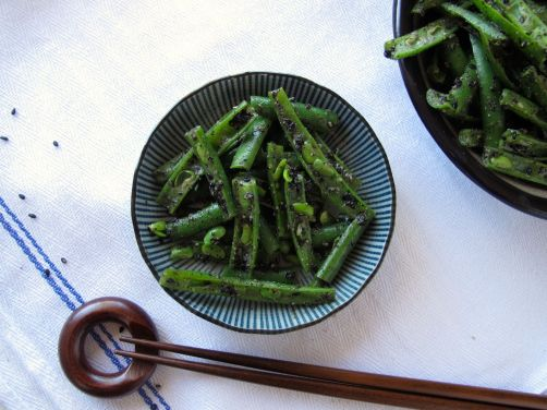 Green Bean Black Sesame Goma-Ae