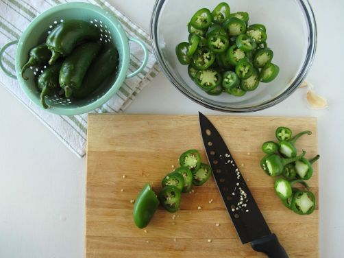 Making Quick-Pickled Jalapeños