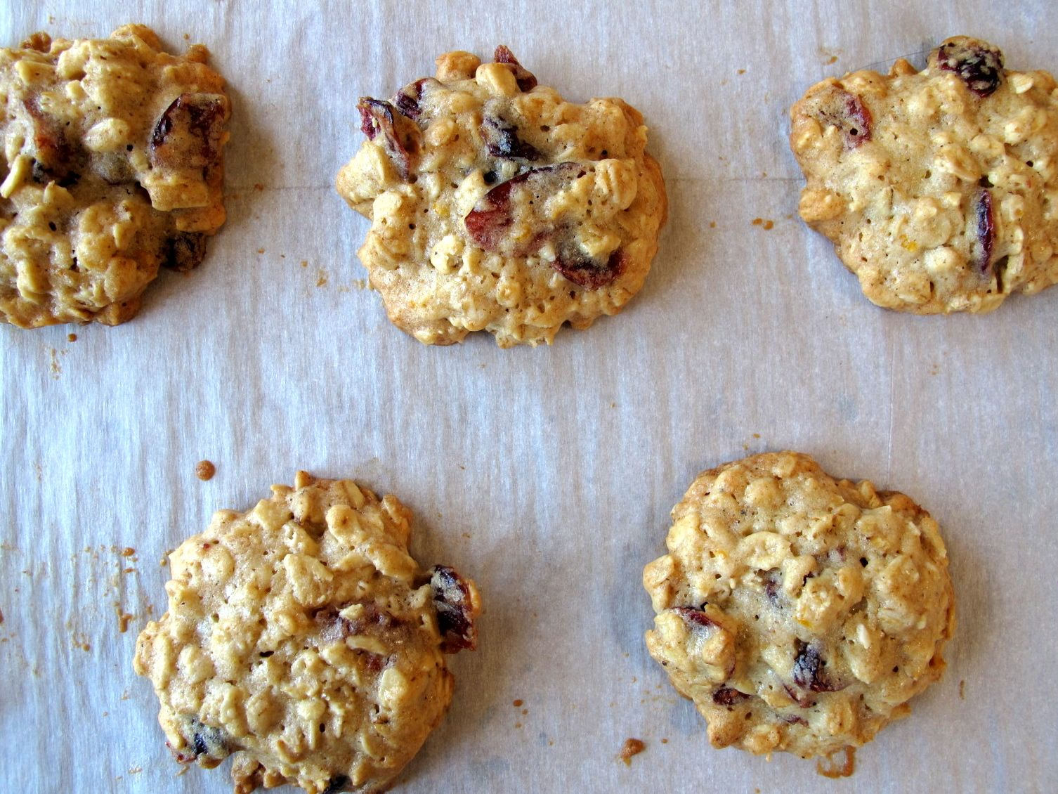 ... smitten kitchen ), and 104 Orange cardamom cranberry oatmeal cookies