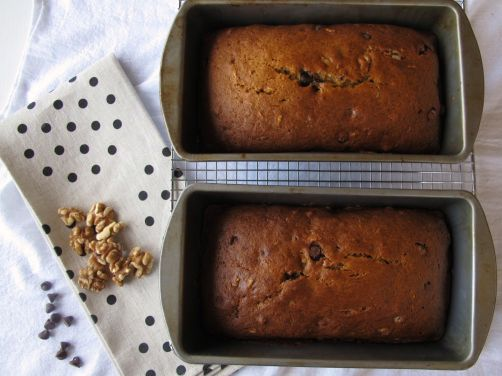One-Bowl Pumpkin Chocolate Chip Bread