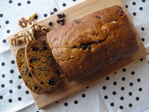 One-Bowl Pumpkin Chocolate Chip Bread