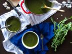 Garlicky Green Soup