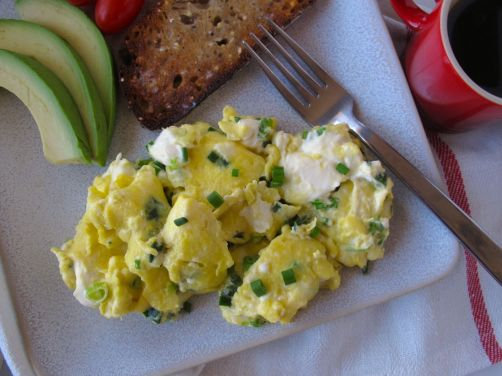 Scallion Cream Cheese Scrambled Eggs (SCC)