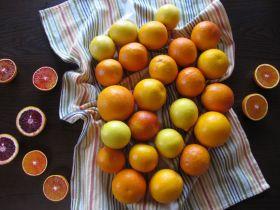 Making Yuzu-cha style Blood Orange Lemon Tea