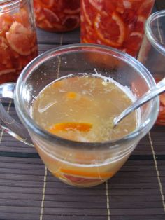 Yuzu-cha style Blood Orange Lemon Tea