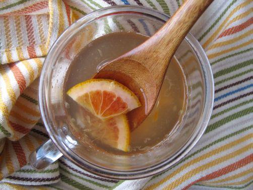 Yuzu-cha style Blood Orange Lemon Tea
