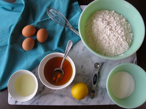 Ingredients for Hamantaschen Dough
