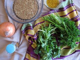 Ingredients for Moroccan Chicken Rfissa