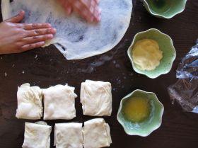 Making Msemen - Moroccan Flatbread