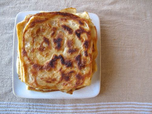 Msemen - Moroccan Fried Flatbread