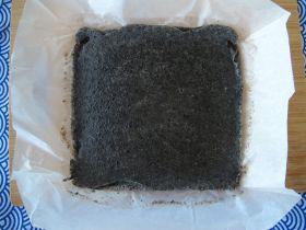 Baked Black Sesame Mochi