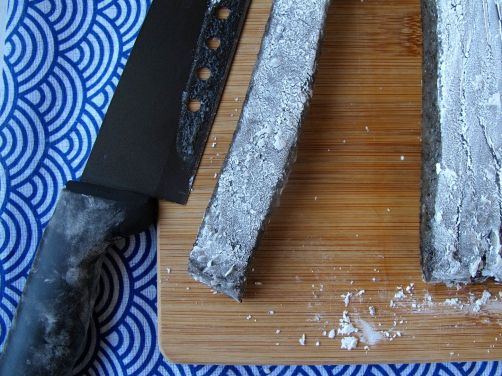 Making Kibidango-style Black Sesame Mochi Dumplings