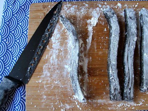 Making Kibidango-style Black Sesame Mochi Dumplings