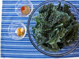 Ingredients for Nepali Spiced Kale